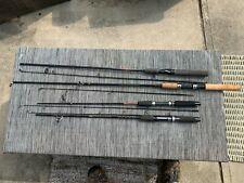 Spin Cast Fishing Rods Lot Of 4 Shakespeare  ,Okuma ,Ugly Stick, Zebco prostaff