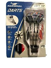 NEW Narwhal Tournament Darts Soft Tip 18g Brand With Extras For Electronic Board