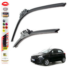 "Ford Ka+ 2017-on HEYNER SUPER FLAT PREMIUM wiper blades 22"" 16"" FRONT"