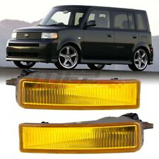 For 2003-2007 Scion xB Winjet OE Factory Fit Fog Light Bumper Kit Yellow Lens