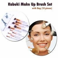 10 PC Marble and Rose Gold Makeup Brushes set Eyeshadow Eyebrow cosmetic brush