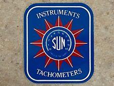 Sun Instruments Tachometers Decal - Original