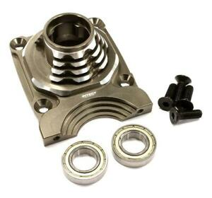 C25052GUN Billet Machined Enclosed Clutch Carrier Mount Housing for Losi 5ive-T
