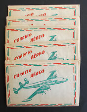 SET OF 5 SACHETS OF AIRMAIL ENVELOPES POSTCARD LETTER STATIONARY (UNUSED)