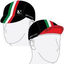 VeloChampion Under Helmet Cycling Cap - Italian Flag Design - One Size