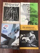 Air Reservist Air Force Magazine Apr 1958, May/June 1961, June 1963, June 1980