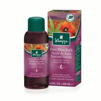 Kneipp Red Poppy & Hemp Pure Bliss Bath Herbal Bath Oil 100ml