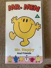 Mr. Men - Mr. Happy And Friends - Fox Video - Animated - Adventure - Kids - VHS