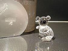 Swarovski Figurine Koala avec neuf dans sa boîte & certificat/excellent état