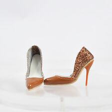 """Sherry 16"""" Tonner Robert Antoinette Brass doll shoes/pumps gene marshall"""