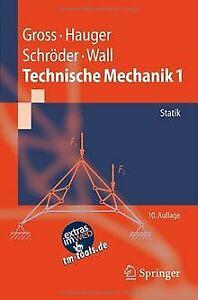 Technische Mechanik 1: Statik: Band 1: Statik (Springer-...   Buch   Zustand gut