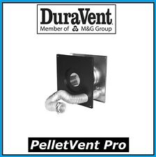 "DURAVENT PELLETVENT PRO Pipe 3"" Wall Thimble w/Air Intake #3PVP-WTI NEW!"