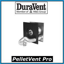 "DURAVENT PELLETVENT PRO Pipe 4"" Wall Thimble w/Air Intake #4PVP-WTI NEW!"