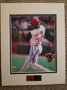 Autographed 8x10 Ken Griffey Jr. Photo