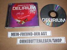 CD pop cirque du soleil-délire (15 chanson) universal