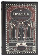 DRACULA & OTHER HORROR CLASSICS ~ BRAM STOKER ~ LEATHER BOUND GIFT ED. ~ NEW HC