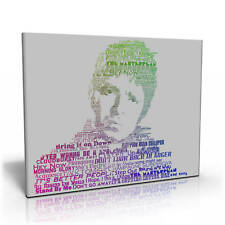 Noel Gallagher Songs Canvas Print | Oasis | High Flying Birds | Liam Gallagher
