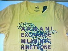 AX YELLOW  ladies TEE SHIRT WILL BAG made in Peru