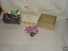 Toy Plane Vintage Training Plane  new In Box old
