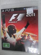 F1 Formula 1 2011 PS3