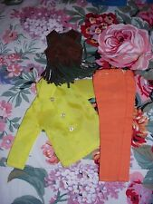Ken & Brad Doll Mod Vintage Orange/Yellow Outfit Hong Kong Barbie