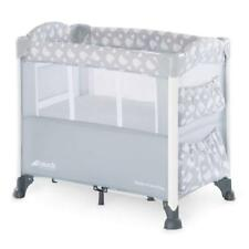 hauck Sleep N Care Plus Travel Cot With Small Foldable Bed Teddy Grey 60815