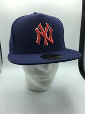 New Era 59 Fifty Fitted Hat Sz 7 5/8 New York Yankees