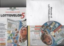2006 FINSON - LOTTOVELOX 5 - GESTIONE LOTTO 11 RUOTE - CON LICENZA - WINDOWS