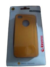 Coque Iphone 4 4s Apple couleur or Telephone Phone Cap Cover