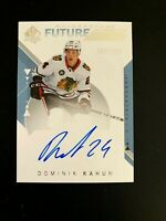 2018-19 SP Authentic #231 Dominik Kahun FW AU/949* RC