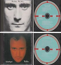 PHIL COLLINS Face Value & No Jacket Required [WEST GERMANY TARGET] 2 CD Lot 80s