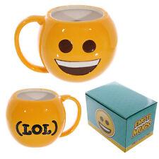 Tasse Emoticon Kaffeetasse  Kaffeebecher Becher Emotive Keramik Großes Lächeln