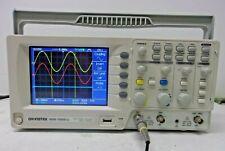 GW INSTEK GDS-1052-U, DIGITAL STORAGE OSCILLOSCOPE 50 MHZ, 2 CH, COLOR, USB PROB