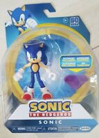 """Sonic The Hedgehog Jakks Articulated 4"""" Figure Sonic with Accessory"""