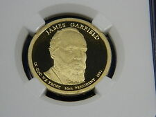 2011-S James Garfield Proof Presidential Dollar  - NGC PF69 UCAM Early Release