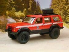 1984– 2001 (XJ) Jeep Cherokee OFF-ROAD EMT Paramedic 1/64 Scale Limited Edit L