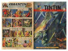 TINTIN  N°   82   18/05/1950 ON A MARCHE SUR LA LUNE HERGE  ABE