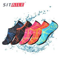 Womens Aqua Skin Shoes Yoga Exercise Swim Surf Water Sports Neoprene Beach Socks