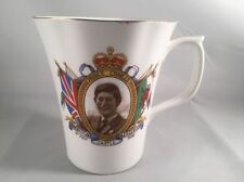 Coronet Bone China Cup Prince Charles Investiture 1969 Caernarvon Castle Croeso