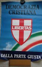 manifesto elezioni politiche 1992 DEMOCRAZIA CRISTIANA DC