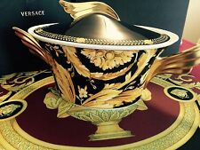 $1200 VERSACE VANITY VEGETABLE SOUP TUREEN DISH BOWL ROSENTHAL NEW AUTH. SALE