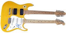 Barry Gibb Autographed Signed Doubleneck Guitar UACC RD COA AFTAL
