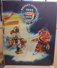 1995 95-96 Kraft Hockey Champions complete set in album w/Gretzky, Brodeur, Roy