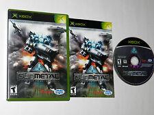 Gun Metal Microsoft Xbox Video Game Complete