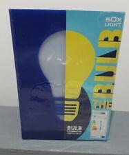 Box Light Watch The Bulb Illuminates Desk Lamp Night Blue FAST delivery New