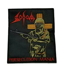 SODOM PERSECUTION MANIA EMBROIDERED PATCH