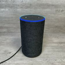 Amazon Echo Alexa Smart Assistant Speaker Charcoal 2nd Generation Fully Tested
