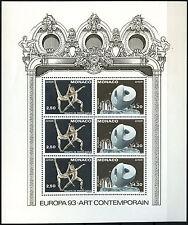 Monaco 1993 SG#MS2127 europa neuf sans charnière m/s #D40617