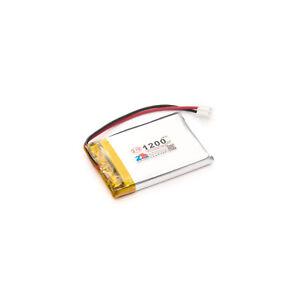 Lithium Ion Polymer Battery - 3.7v 1200mAh Little Bird