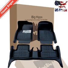 Car Floor Mats&Carpets for Nissan Rogue 2014-2019 All Weather Wateproof Protect